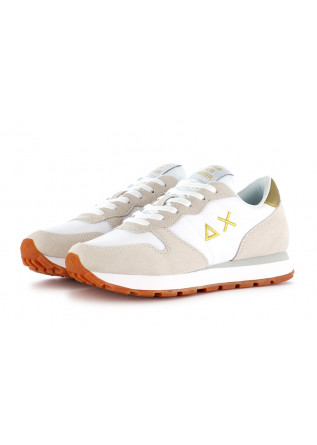 WOMEN'S SNEAKERS WHITE BEIGE YELLOW SUN68