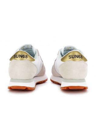 SNEAKERS DONNA SUN68   BIANCO BEIGE GIALLO