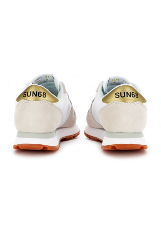WOMEN'S SNEAKERS SUN68 | WHITE BEIGE YELLOW