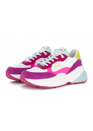 WOMEN'S SNEAKERS WHITE FUCHSIA SUN68
