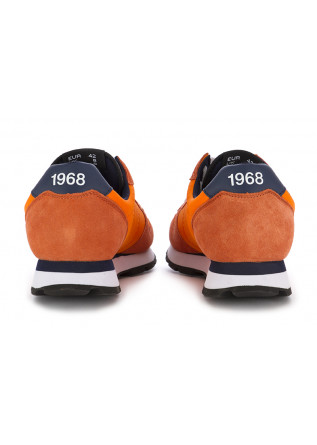 MEN'S SNEAKERS SUN68 | ORANGE - TEXTILE / SUEDE