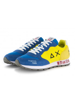 MEN'S SNEAKERS LIGHT BLUE YELLOW SUN68