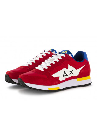 MEN'S SNEAKERS RED WHITE SUN68