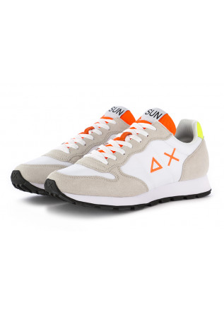 MEN'S SNEAKERS WHITE BEIGE FLUO SUN68