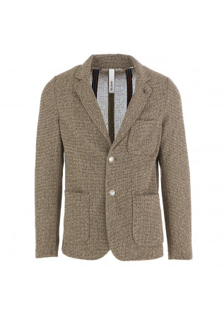 MEN'S JACKET DISTRETTO 12 | LIGHT BROWN COTTON BLEND