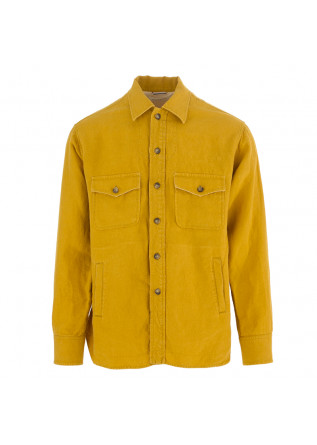 MEN'S SHIRT TINTORIA MATTEI 954 DEEP YELLOW