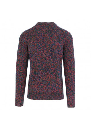 MEN'S SWEATER ROBERTO COLLINA | RED BLUE COTTON