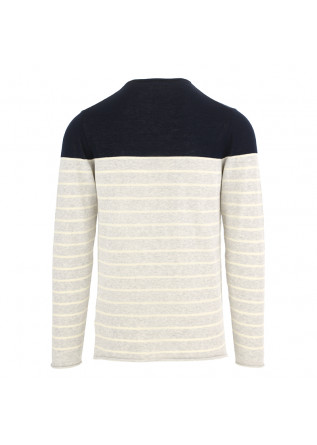 MEN'S SWEATER DANIELE FIESOLI | BLUE GREY COTTON