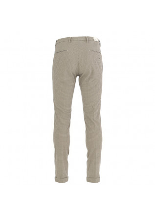 MEN'S TROUSERS BRIGLIA | BEIGE BLUE COTTON