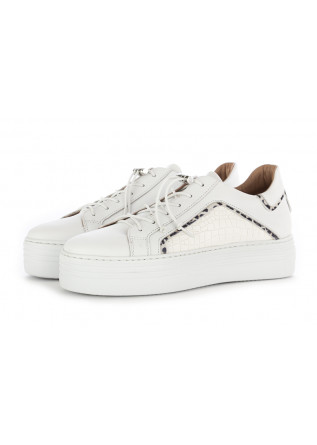 SNEAKERS DONNA MJUS BIANCO PELLE