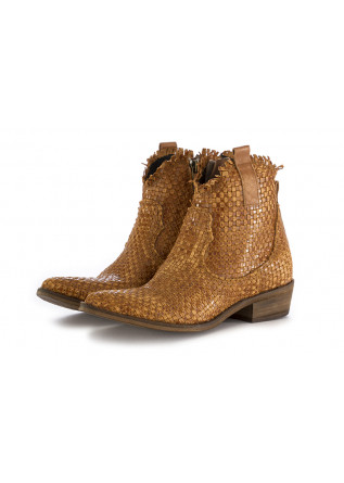 WOMEN'S TEXAN ANKLE BOOTS JUICE BROWN