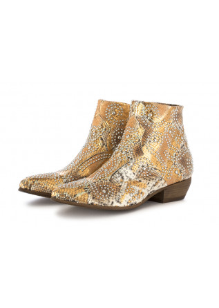 WOMEN'S TEXAN ANKLE BOOTS JUICE BRONZE