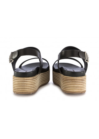 WOMEN'S WEDGE SANDALS RAHYA GREY | BLACK