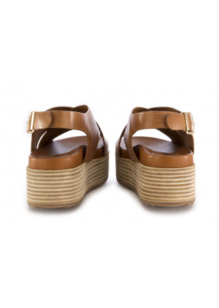 WOMEN'S WEDGE SANDALS RAHYA GREY | BROWN