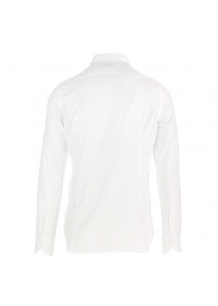 MEN'S SHIRT TINTORIA MATTEI 954 | WHITE COTTON