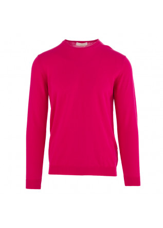 MEN'S SWEATER DANIELE FIESOLI FUCHSIA COTTON
