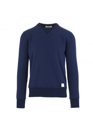 MEN'S SWEATSHIRT DANIELE FIESOLI BLUE MARINE COTTON