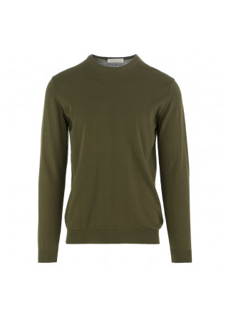 MEN'S SWEATER DANIELE FIESOLI OLIVE GREEN