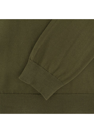 MEN'S SWEATER DANIELE FIESOLI | OLIVE GREEN