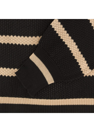 MEN'S SWEATER ROBERTO COLLINA | BLACK / BEIGE