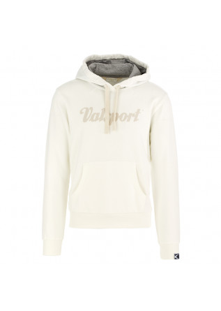 MEN'S SWEATSHIRT VALSPORT | WHITE CREAM COTTON