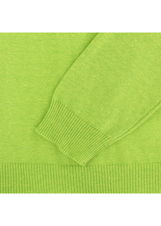 MEN'S SWEATER WOOL & CO | FLUORESCENT GREEN COTTON