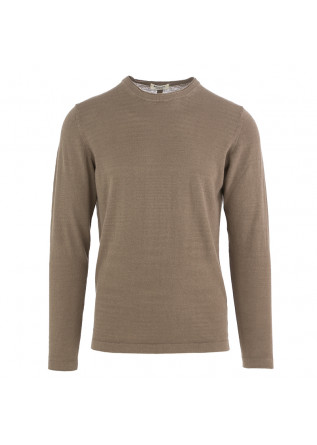 MEN'S SWEATER WOOL & CO BEIGE LINEN BLEND