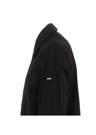 WOMEN'S LONG WATERPROOF JACKET OOF | BLACK