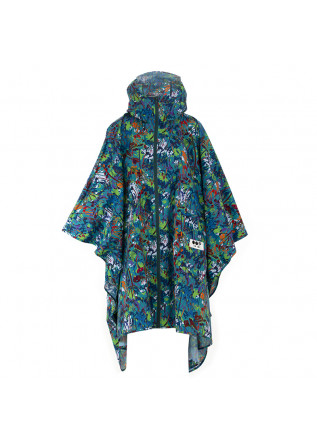 WOMEN'S WATERPROOF CAPE OOF GREEN MULTICOLOR