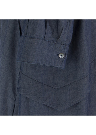 WOMEN'S DRESS BIONEUMA | BLUE DENIM COTTON