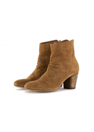WOMEN'S ANKLE BOOTS OFFICINE CREATIVE | BROWN SUEDE LEATHER