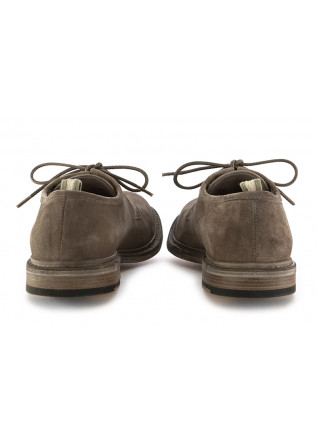 MEN'S LACE-UP SHOES  OFFICINE CREATIVE | GREY SUEDE LEATHER