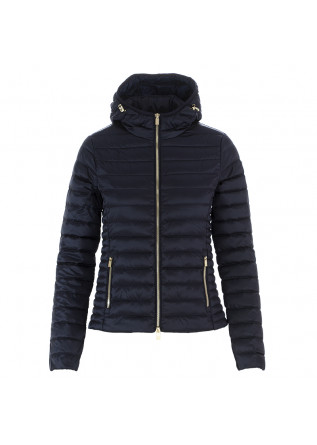 WOMEN'S DOWN JACKET CIESSE PIUMINI BLUE HOOD