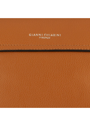 WOMEN'S SHOULDER BAG GIANNI CHIARINI | LIGHT BROWN LEATHER