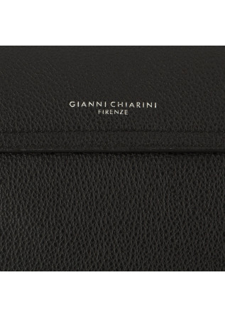 WOMEN'S SHOULDER BAG GIANNI CHIARINI | BLACK LEATHER