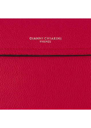 WOMEN'S SHOULDER BAG GIANNI CHIARINI | RED LEATHER