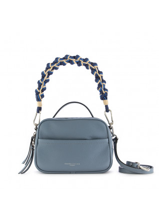 women's handbag rope gianni chiarini leather light blue