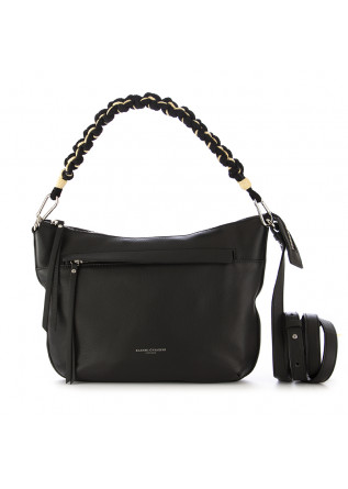 WOMEN'S SHOULDER BAG GIANNI CHIARINI BLACK LEATHER