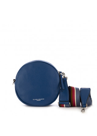 women's crossbody bag gianni chiarini blue ultramarine leather