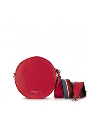 borsa tracolla da donna gianni chiarini rosso pelle