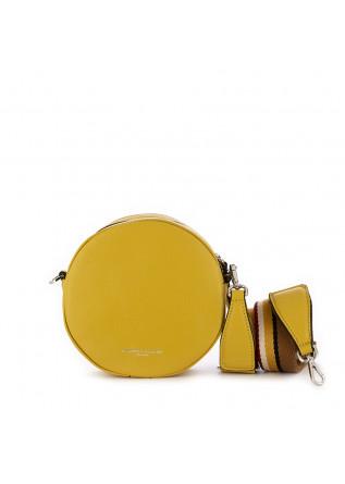 borsa tracolla da donna gianni chiarini giallo pelle