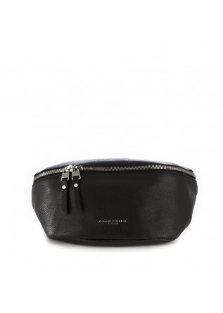 women's belt bag gianni chiarini black leather