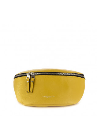 women's belt bag gianni chiarini yellow leather