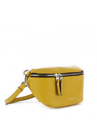 WOMEN'S BELT BAG GIANNI CHIARINI | YELLOW LEATHER