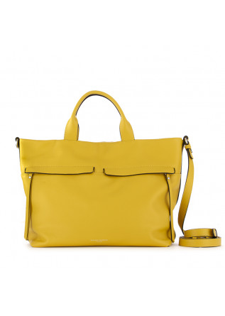 women's handbag gianni chiarini yellow leather