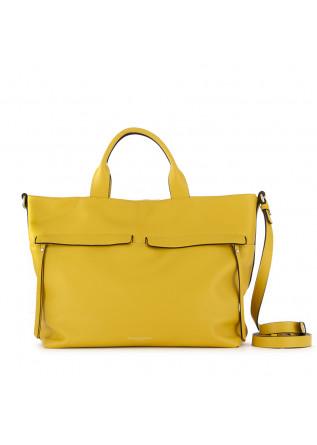 women's handbag gianni chiarini yellow leather