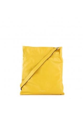 borsa a spalla da donna gianni chiarini giallo pelle memory