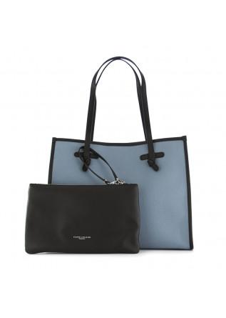 borsa a spalla da donna marcella  gianni chiarini azzurro canvas