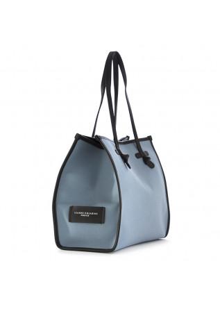 "WOMEN'S SHOULDER BAG  ""MARCELLA"" GIANNI CHIARINI | LIGHT BLUE CANVAS"