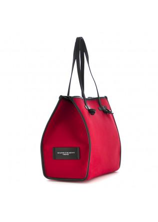 "WOMEN'S SHOULDER BAG ""MARCELLA"" GIANNI CHIARINI | RED CANVAS"